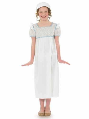 [Victorian Regency Childs Fancy Dress Costume - L 54inch Height] (Childrens Fancy Dress Costumes Uk)