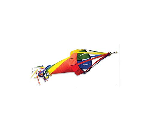 (Prеmiеr Kitеs Outdoor Garden Backyard Décor Wind Garden Spinsock, Rainbow, 48-Inch)