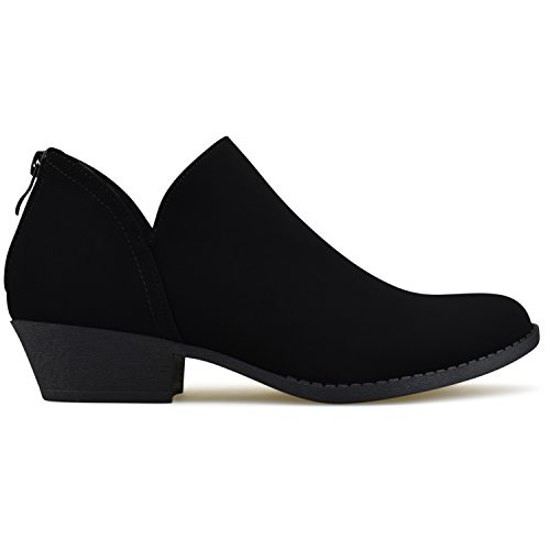 Bootie Shoe Comfortable Toe Panel Women's Standard Closed Premier Side Elastic Ankle Ox4Yv0nqwC