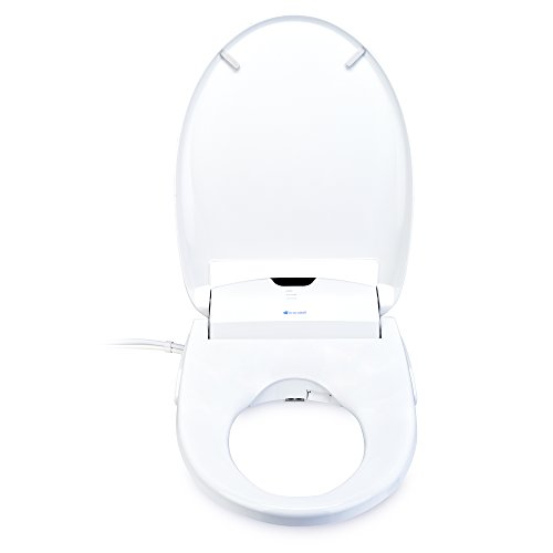 Brondell Swash 1400 Luxury Bidet Toilet Seat in Elongated White with Dual Stainless-Steel Nozzles and Nanotechnology Nozzle Sterilization| Endless Warm Water | Warm Air Dryer | Nightlight by Brondell (Image #3)