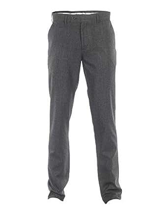 O-Code Black Slim Fit Trousers Pant For Men