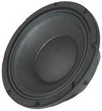 Widow Black Speaker (Peavey 1008 HE-BWX Black Widow RB Replacement Basket for 1008 10 inch HE-BWX)