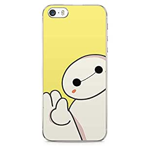 Loud Universe Big Brother Kawai Yellow iPhone 5 / 5s Case Hi Big Brother Cute iPhone 5 / 5s Cover with Transparent Edges