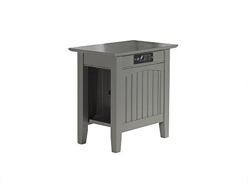 Atlantic Furniture AH13319 Nantucket Side Table Wood, Chair (22