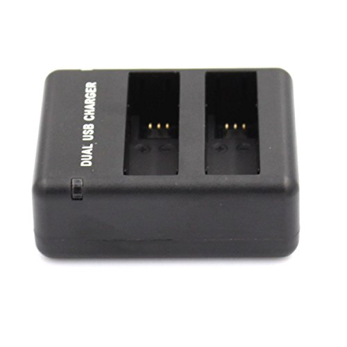 Iextreme Smart Fast Dual USB Charger + AHDBT-401 Battery for GoPro Hero 4 - Black by Iextreme