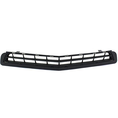 New Front Side Lower Bumper Grille For 2010-2013 Chevrolet Camaro Matte-Black, With Ls Lt, Without Rs Package GM1036125 92228228