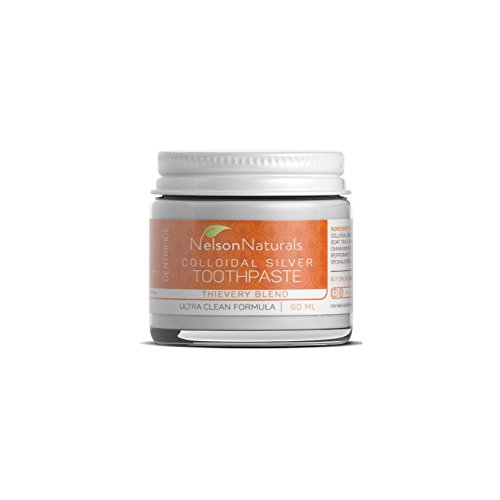 (Nelson Naturals Citrus Spice Blend Fluoride Free Toothpaste 2 oz)