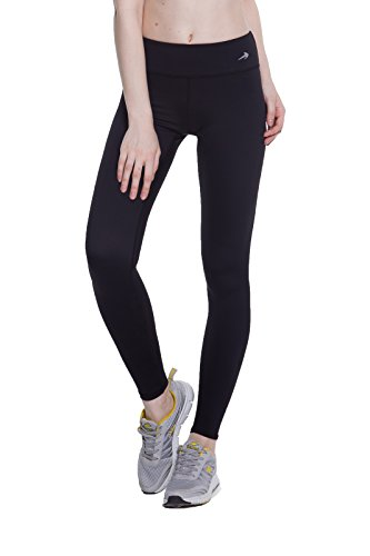 Women's Compression Pants (Black - L) Best Full Leggings...