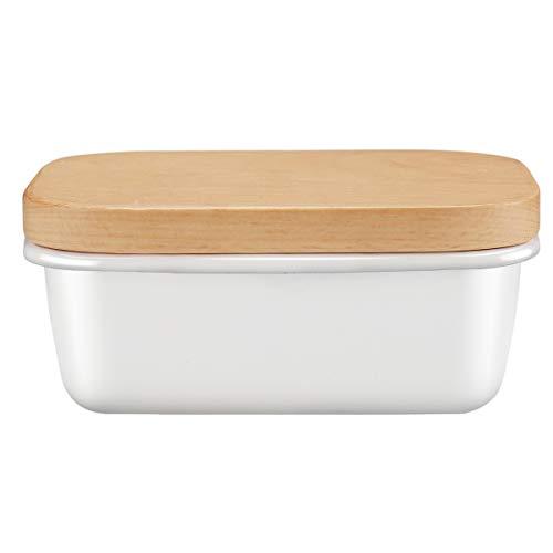 Enamel Butter Dish Butter