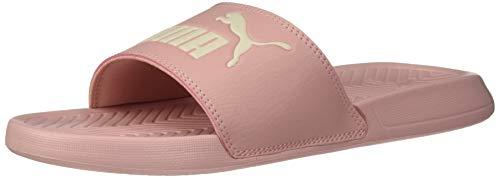 PUMA Popcat Slide Sandal, Bridal Rose-Pastel Parchment, 12 M US