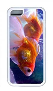 Beautiful Golden Fish Thanksgiving Rubber(TPU) white Case for Masterpiece Limited Design ipod touch 4 touch 4 by Cases & Mousepads