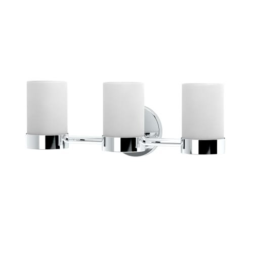 Gatco 1636 Glam Triple Sconce, (Bathroom Triple Sconce)