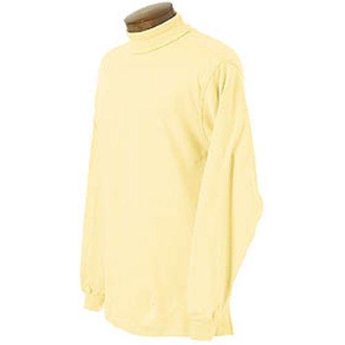 Interlock Turtleneck Print Cotton (Monterey Club Mens Long Sleeve Interlock Turtle Neck Shirt #3903 (Sun, Large))