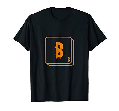 Letter Tile B Halloween Edition T-Shirt -