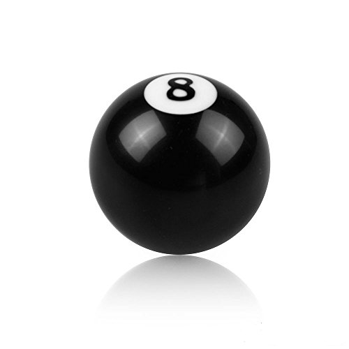 8 Ball Auto - Ocamo Creative Black 8 Ball Shift Knob for Manual Gear Shifter Universal Auto Car
