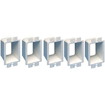 Arlington Be1 5 Electrical Outlet Box Extender 1 Gang White 5