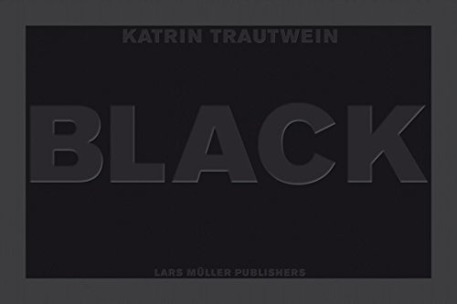 Schwarz Black (German and English Edition) by Lars Müller Publishers