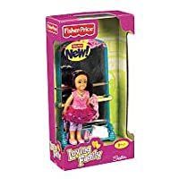 Bailarina con espejo de Lovist Family Sister Doll Plus de Fisher-price con espejo - Hispano