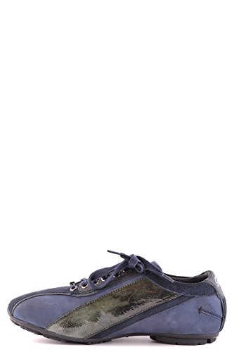 COSTUME NATIONAL HOMME MCBI074056O BLEU SUÈDE BASKETS