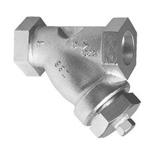 Carbon Steel 5 Length FNPT x FNPT 0075-1500Y1TC-1-3//4 Y Strainer SSI Technologies 1//32 Mesh