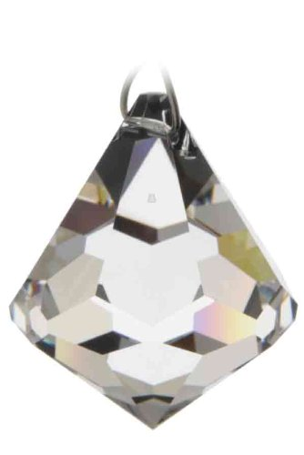 88b695c63 Swarovski Hanging Crystal Suncatcher/Rainbow Maker with 40mm Clear Bell  Crystal: Amazon.co.uk: Kitchen & Home