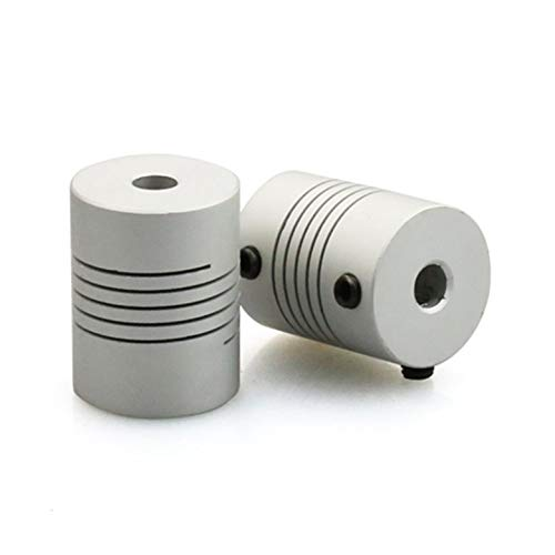 AgoHike 3D Printer Parts Flexible Coupling Coupler 5mm to 5mm Motor Shaft Couplings