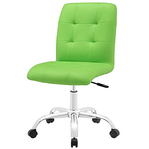 DK Furniture Prim Mid Back Office Chair in Bright Green