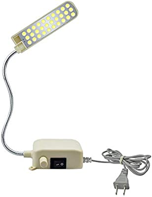 Bonlux 2W 30 LEDs 200LM Luz Regulable Lámpara Flexible LED para ...