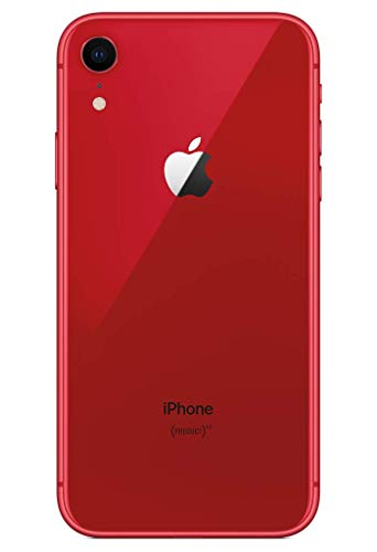 Apple iPhone XR 64GB (Product) RED (Includes EarPods, Power Adapter)