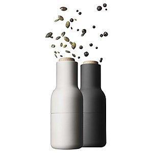 Bottle Grinder, small, carbon/ash set (Japan Shaker Salt)