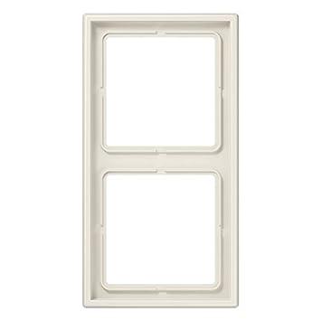 Jung Rahmen 2fach LS 990 weiß, 1 Stück, LS 982 W