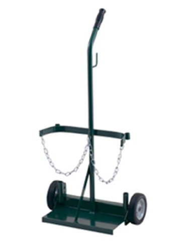 Harper Trucks 106-21 40-Inch High by 19-Inch Wide Welding Cylinder Hand Truck with 6-Inch Pneumatic ()