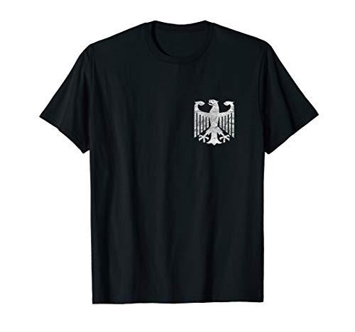 Distressed German Eagle T-Shirt I Germany Pride Tee Gift