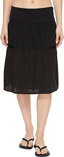 prAna Taja Skirt Skirts, Black, Small