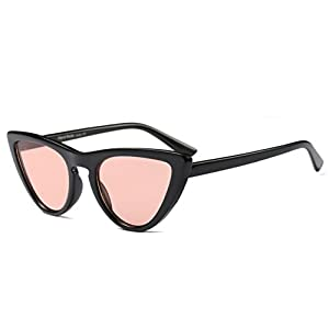 My Shades(TM) - Cateye or High Pointed Sunglasses Celebrity Chic Vintage Inspired Fashion (Black, Pink)