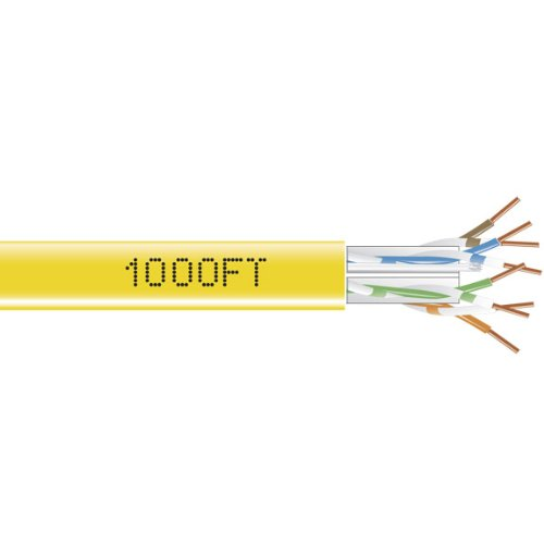Black Box GigaTrue 550 CAT6, 550-MHz Sol - Pvc Solid Network Cable Shopping Results
