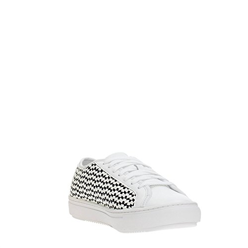 Le Coq Sportif Jane Woven Damen Sneakers OPTICAL WHITE/BLACK