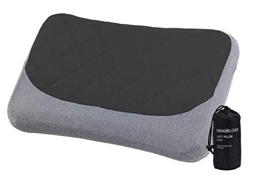 Inflatable Camping Travel Lumbar Pillow Ultralight - Best Compact Backpacking Pillow - Portable Air Pillow for Backpack Camp Travelling Hiking Car Sleeping - Lightweight Inflating Blow Up Pillow