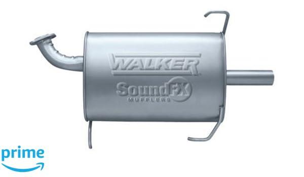 Walker Exhaust 18106 UNIVERSAL TRU-FIT MUFFLER