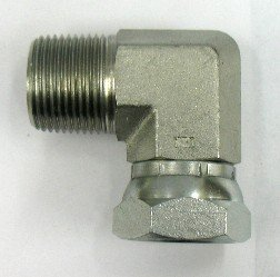 Swivel 90 Elbow X 1//4 Female Pipe AF 9405-04-04-1//4 Male Pipe .540-18 Threads .540-18 Threads