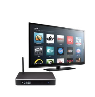 The Jynx Box J912 Streaming Media System Bundle with a ii8 Mini-keyboard Air Mouse remote by Jynxs