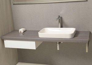 De mueble de baño Avice con plan. Armario. Cajón y puerta toalla: Amazon.es: Bricolaje y herramientas