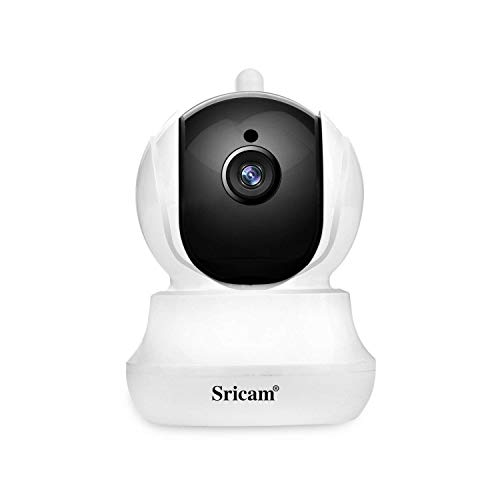 Sricam Wireless Security Camera 720p Pan/Tilt/Zoom Wifi Camera with Two Way Audio, Motion Detection, Night Verison, MicroSD Recording for iPhone/Android Phone/iPad/Windows Remote View