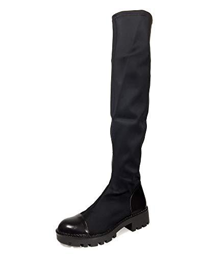 (Zara Women Track Sole Tall Boots 7050/301 (36 EU | 6 US | 3 UK))