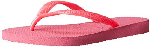 Havaianas Little Kid Slim Flip Flop Sandal, Shocking Pink, 9 M US Toddler