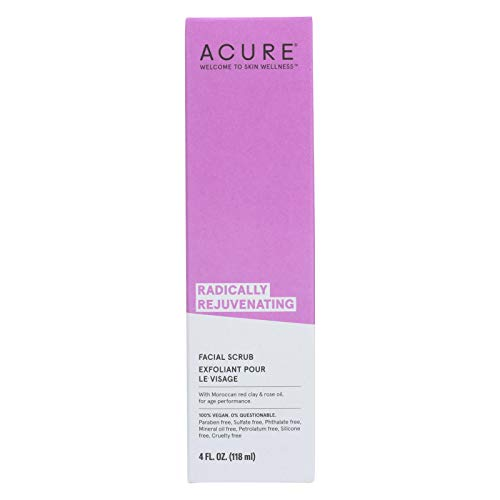 Acure Facial Scrub Pore Clrfying