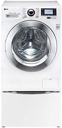Mini lavadora - LG Electronics F8K5XN3, Motor Inverter, 2KG, 800rpm, Twin Wash