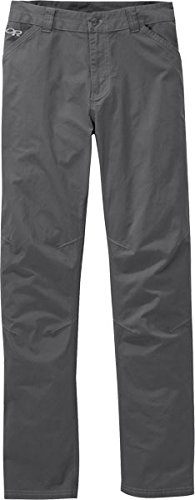 Outdoor Research Men's Brickyard Pants, Charcoal, 34 by Outdoor Research