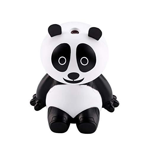 ir Purifier Portable Panda Shape Humidifier USB LED Lights Ultrasonic Aroma Atomizer ()