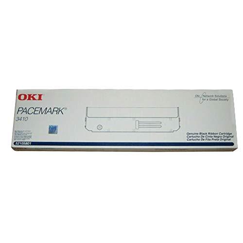 Wholesale CASE of 5 - Oki Data 52105801 Printer Ribbon-Matrix Nylon Printer Ribbon, For Pacemark 3410, Black